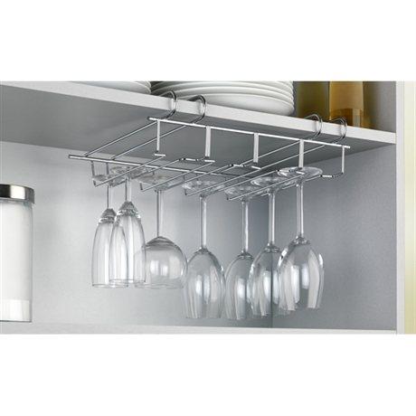 porte verres pour placard et tag re wenko rangement de placards et tiroirs organisation de. Black Bedroom Furniture Sets. Home Design Ideas