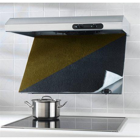 Filtre pour hotte charbon actif wenko accessoires d - Charbon actif pour hotte ...