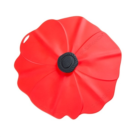 Couvercle coquelicot 15 cm Charles Viancin