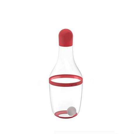 shaker vinaigrette rouge lekue bo tes et accessoires de conservation ustensiles de cuisine. Black Bedroom Furniture Sets. Home Design Ideas