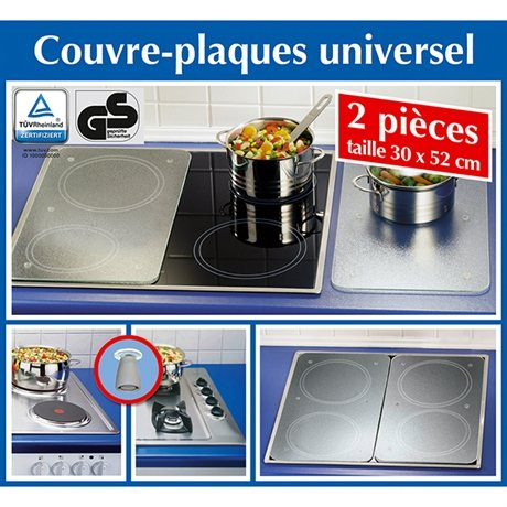 2 couvre plaques film wenko protection plaques de cuisson cr dence organisation de la. Black Bedroom Furniture Sets. Home Design Ideas