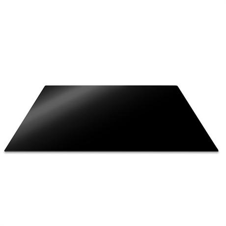 planche de protection pour plaque de cuisson noire 57 x 50 cm pebbly. Black Bedroom Furniture Sets. Home Design Ideas