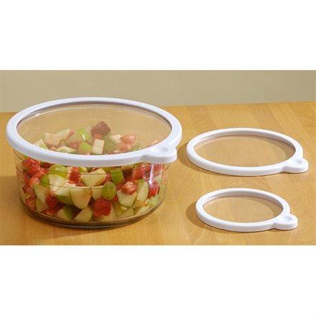 3 couvre plats sous vide bo tes et accessoires de conservation ustensiles de cuisine - Plat cuisine sous vide ...