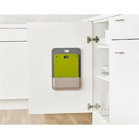 set de 2 planches d couper support placard joseph joseph. Black Bedroom Furniture Sets. Home Design Ideas