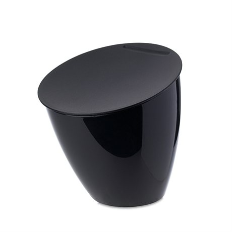 poubelle de table calypso noir mepal poubelles de cuisine et de salle de bain organisation. Black Bedroom Furniture Sets. Home Design Ideas