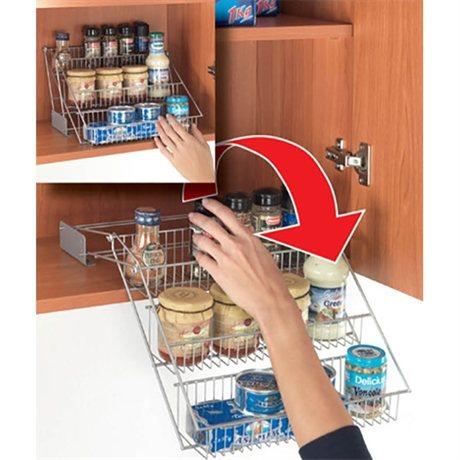 range pices up and down rangement de placards et tiroirs organisation de la cuisine. Black Bedroom Furniture Sets. Home Design Ideas