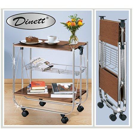 desserte deluxe noyer dessertes de cuisine et jardin. Black Bedroom Furniture Sets. Home Design Ideas