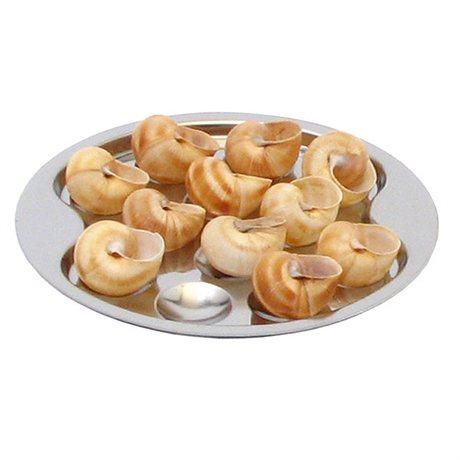 assiette 12 escargots roger orf vre vaisselle et service table art de la table et jardin. Black Bedroom Furniture Sets. Home Design Ideas