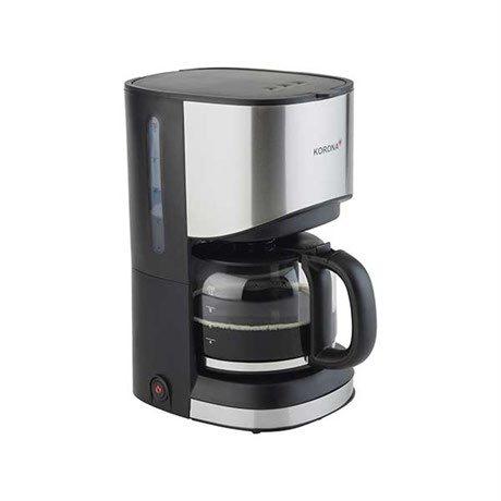 cafeti re inox noir 12 tasses kitchen chef professional cafeti res lectriques petit. Black Bedroom Furniture Sets. Home Design Ideas