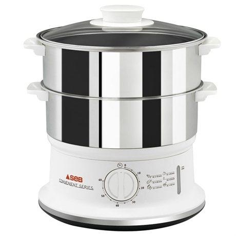 cuiseur vapeur 2 bols inox 6 l seb multicuiseurs et cuit vapeurs lectrique petit