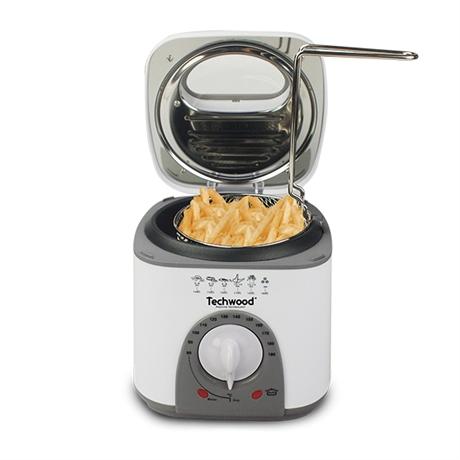 Mini friteuse et appareil fondue 950 w techwood for Petit appareil electrique cuisine