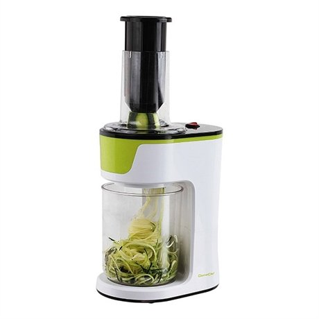 coupe l gume spiralizer lectrique 100 w domoclip hachoirs petit lectrom nager. Black Bedroom Furniture Sets. Home Design Ideas