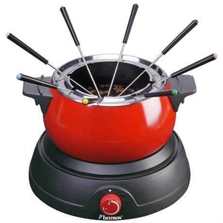 Appareil fondue 8 personnes 1500 w bestron raclettes for Appareil cuisine conviviale