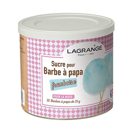 sucre barbe papa ar me framboise 500 g 380008 lagrange colorants ar mes et ingr dients. Black Bedroom Furniture Sets. Home Design Ideas