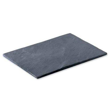 les 4 assiettes ardoise 20x15 cm lebrun vaisselle et service table art de la table et. Black Bedroom Furniture Sets. Home Design Ideas