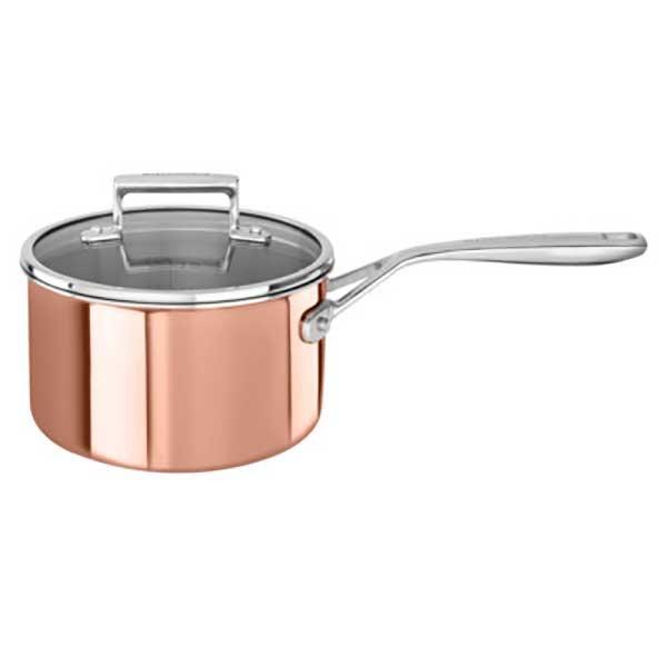 Casserole inox simple casserole affinity inox with for Espace cuisine casserole inox