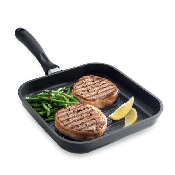 Grill carr anti adh sif saveur plus 24 cm mathon grills for Soldes materiel cuisine