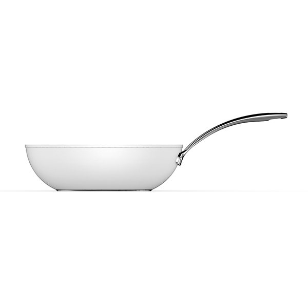 Wok Evergreen White 30 cm Aubecq zoom