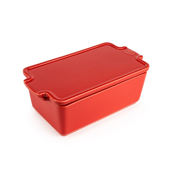 Terrine céramique rouge 20 cm 700 ml Peugeot zoom