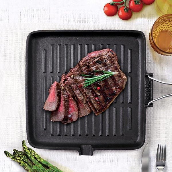 grill en fonte ghisa 28 cm bialetti bialetti grills et po les poisson mat riel de cuisson. Black Bedroom Furniture Sets. Home Design Ideas