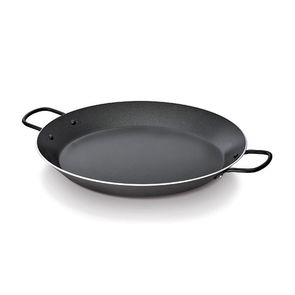 Plat pa lla aluminium anti adh rent 38 cm beka woks et for Plat a paella gifi