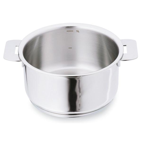 casserole casteline 14 cm cristel casseroles mat riel de cuisson. Black Bedroom Furniture Sets. Home Design Ideas