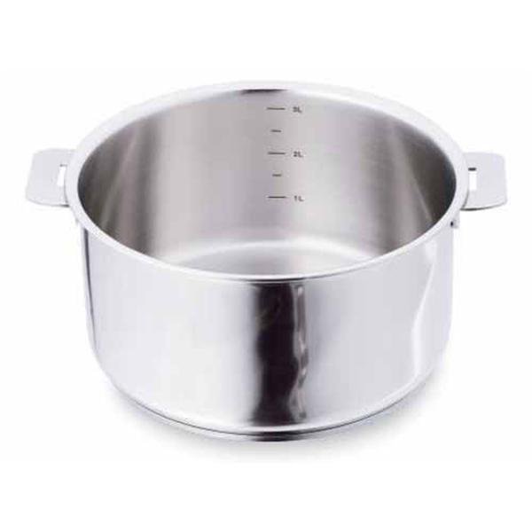 casserole casteline 24 cm cristel casseroles mat riel de cuisson. Black Bedroom Furniture Sets. Home Design Ideas