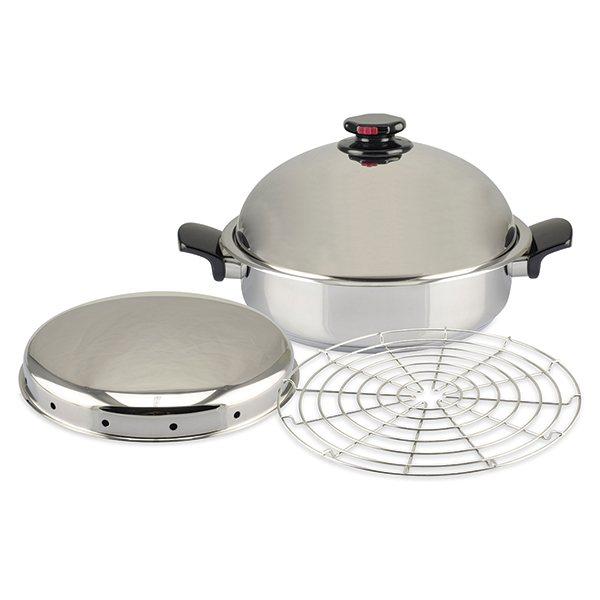 Fumoir inox faitouts et marmites mat riel de cuisson for Materiel de cuisson pour professionnel