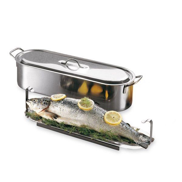 Poissonni re professionnelle 60 cm cuisson la vapeur for Soldes materiel cuisine