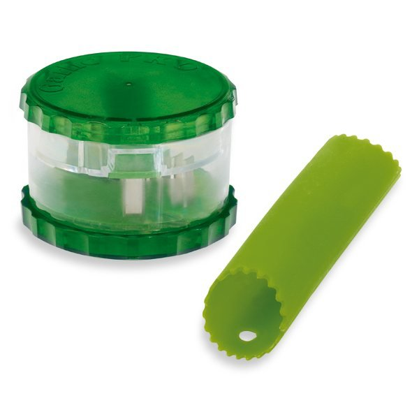 Coupe-ail et tube épluche-ail silicone Westmark zoom