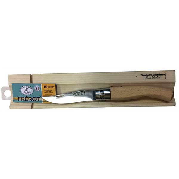 set mini planche d couper et couteau de poche laguiole. Black Bedroom Furniture Sets. Home Design Ideas