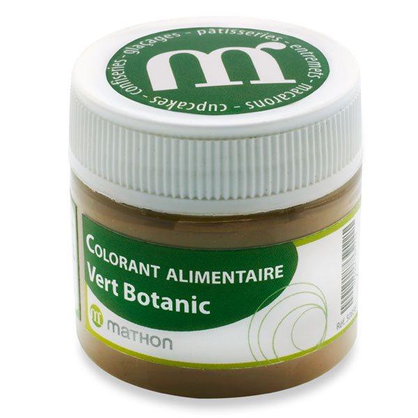 colorants armes et ingrdients colorant alimentaire de synthse vert botanic - Colorants Alimentaires Bio
