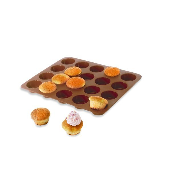 Flexi' Plaque silicone 20 mini-muffins Mathon zoom