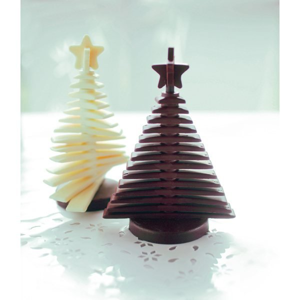 Moule silicone sapin 3D Silikomart zoom