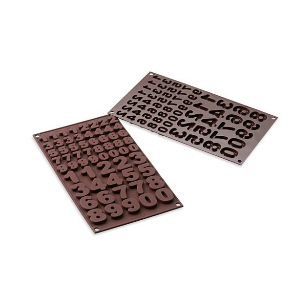Moule chocolats 123 silicone zoom