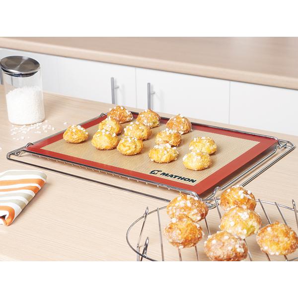 Tapis de cuisson professionnel silicone et fibre de verre for Materiel de cuisson professionnel