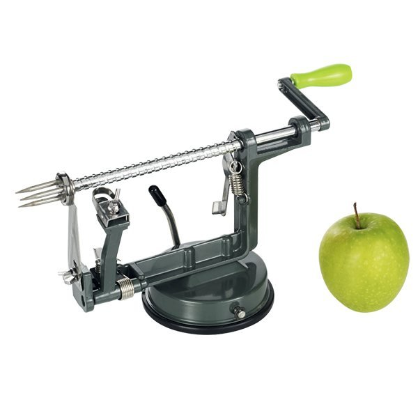 p le pommes en acier mathon coupe fruits herbes et l gumes couteaux et d coupe. Black Bedroom Furniture Sets. Home Design Ideas