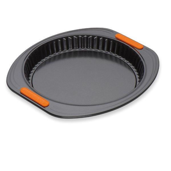 Moule tarte fond amovible 28 cm p tiliss le creuset moules et cercles tarte mat riel de - Moule a fond amovible ...