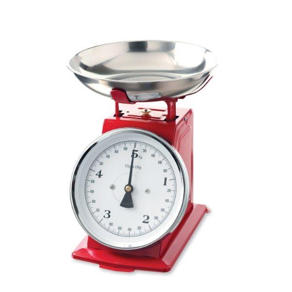 Balance de cuisine r tro 5 kg balances et doseurs de for Ustensiles de cuisine retro