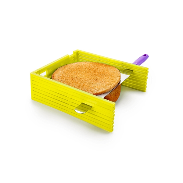 Guide coupe-gâteau en couches 36 cm Ibili zoom