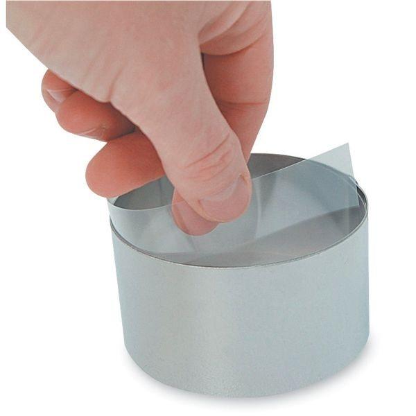 100 bandes transparentes pour cercles 4 5 cm de buyer for 100 pics ustensiles de cuisine