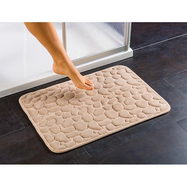 tapis de salle de bain douceur beige am233nagement de la