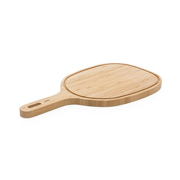 Planche d couper poign e bambou 47 5 cm pebbly planches - Planche pour plier le linge ...