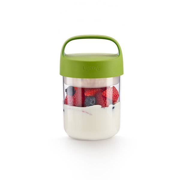 Boite de transport Jar To Go 400 ml vert Lekue zoom