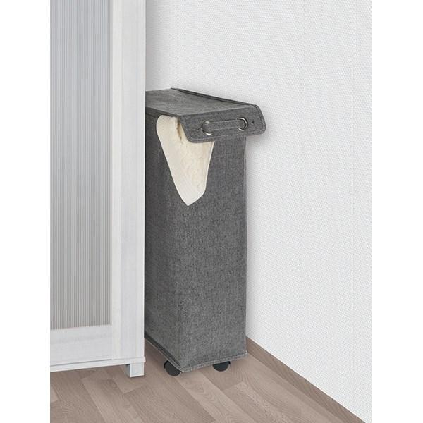 panier linge gain de place sur roulettes am nagement. Black Bedroom Furniture Sets. Home Design Ideas