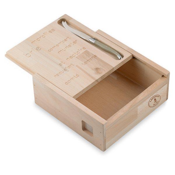 cave fromage et couteau laguiole bo tes et accessoires de conservation ustensiles de. Black Bedroom Furniture Sets. Home Design Ideas
