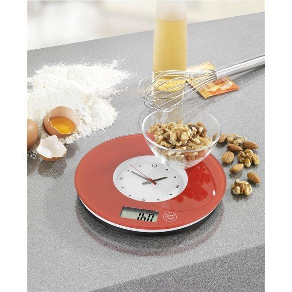 Balance de cuisine time rouge wenko balances et doseurs Balance de cuisine rouge