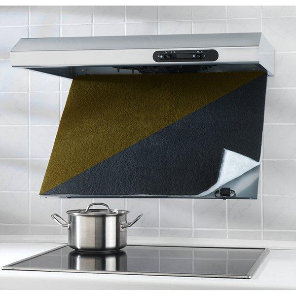 Filtre pour hotte charbon actif wenko accessoires d - Hotte de cuisine avec filtre a charbon ...