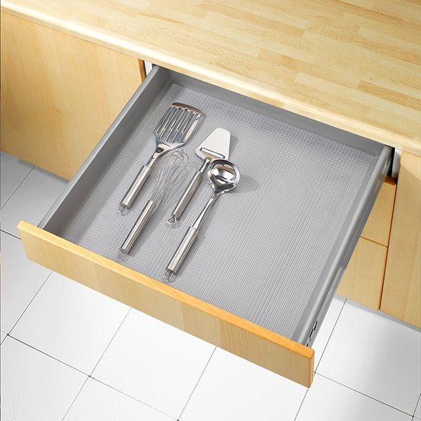 tapis fond de tiroir anti d rapant pr d coup 150 x 50 cm. Black Bedroom Furniture Sets. Home Design Ideas