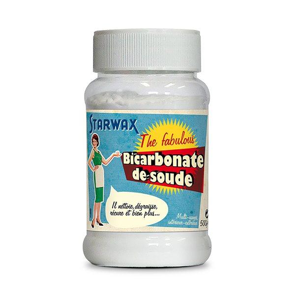 Bicarbonate de soude 500 g starwax produits d 39 entretien - Cuisine bicarbonate de soude ...